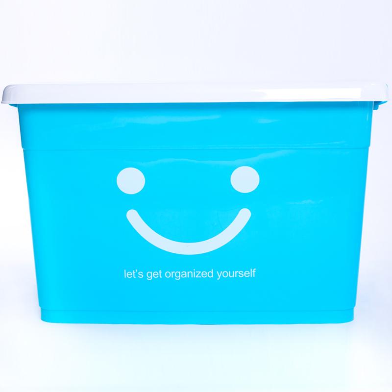 特大号透明塑料收纳箱被子玩具衣服加厚收纳盒衣物整理箱储物箱子