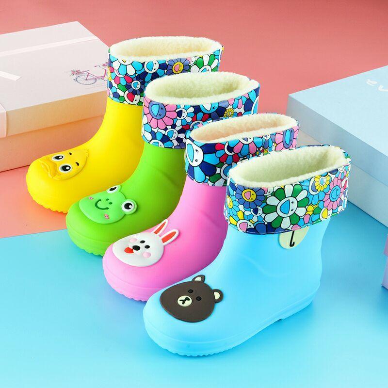 Baby rain shoes children non-slip 1-3