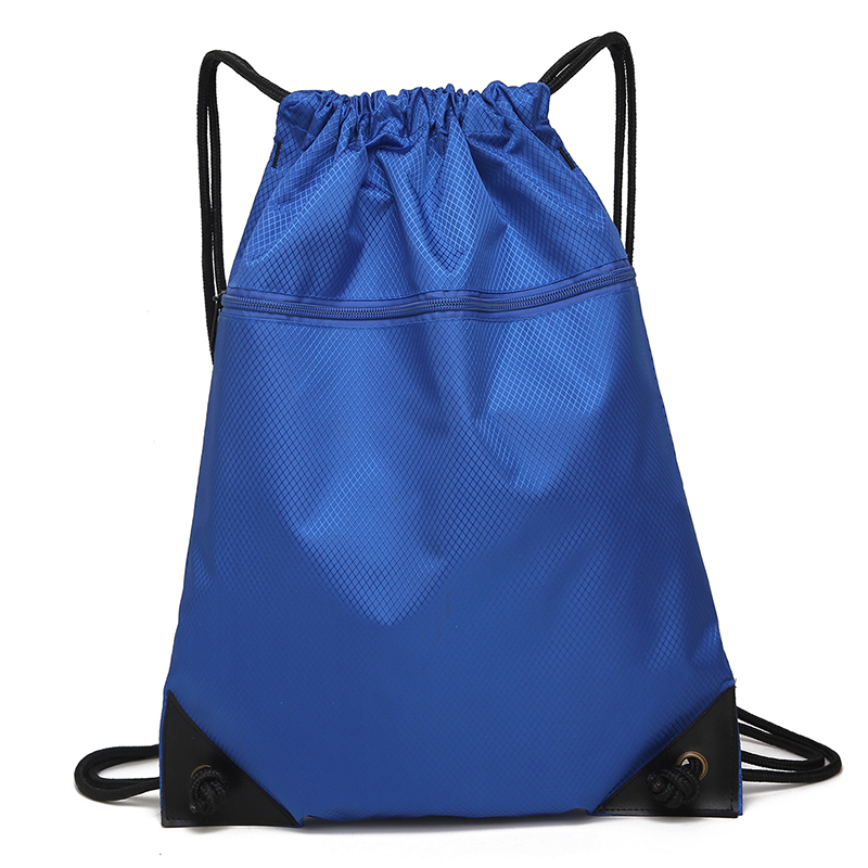 Waterproof drawstring drawstring shoulder bag men and women outdoor large-capacity travel bag running sports storage bag