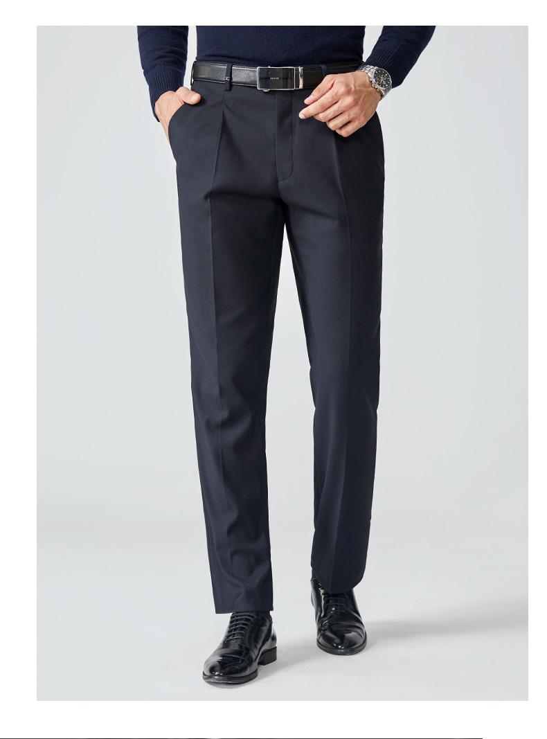 Chín chăn nuôi quần mùa xuân và mùa hè người đàn ông mới của quần người đàn ông lỏng phù hợp với kinh doanh quần lỏng quần ăn mặc quần người đàn ông