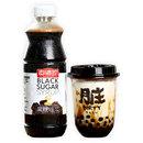 真味珍黑糖糖漿黑糖臟臟奶茶青蛙掛壁黑糖糖漿家庭裝480g小瓶