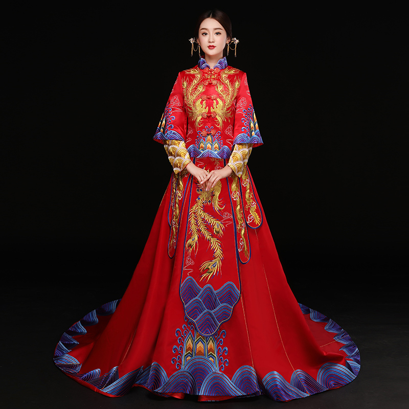 usd 159 03 show wo clothing 2018 new bride wedding chinese dress