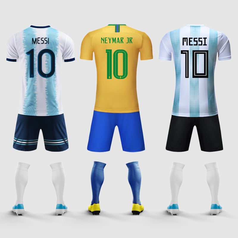f3a3adc6d17 Argentine jersey 2019 America s Cup children s Brazilian jersey inside ...