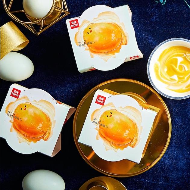 中秋限定礼盒乐纯三倍希腊式酸奶咸蛋黄礼盒
