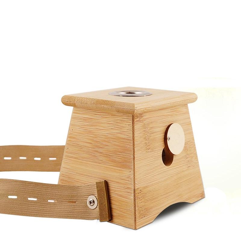 艾灸盒木制随身灸家用熏艾条美容院专用儿童通用小孩全身腹部宫寒