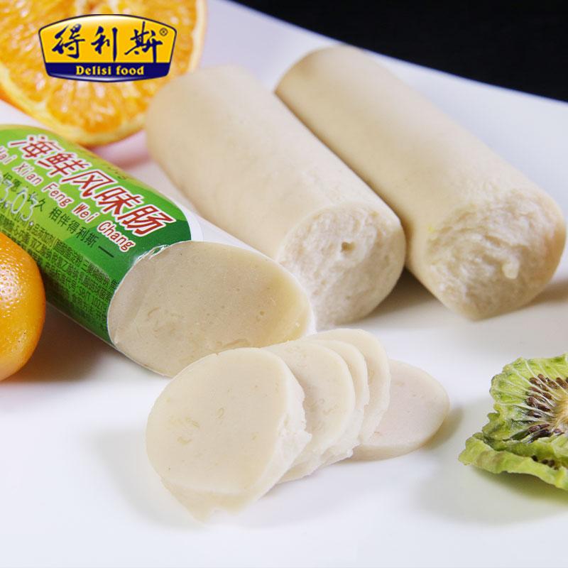 【得利斯】海鲜风味肠130g*4