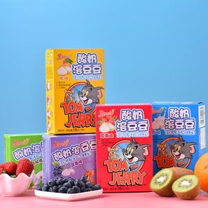果仙多维华纳IP款儿童酸奶溶豆豆益生菌组合16g*5猫和老鼠溶豆