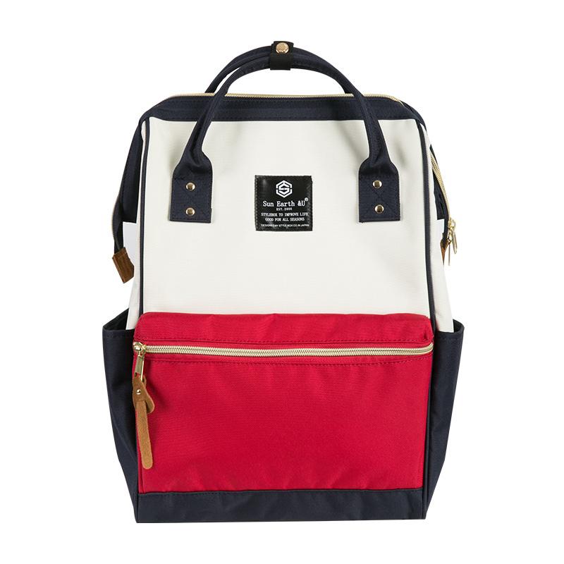 日本乐天双肩包女u&backpack电脑学生书包旅行背包男生离家出走包