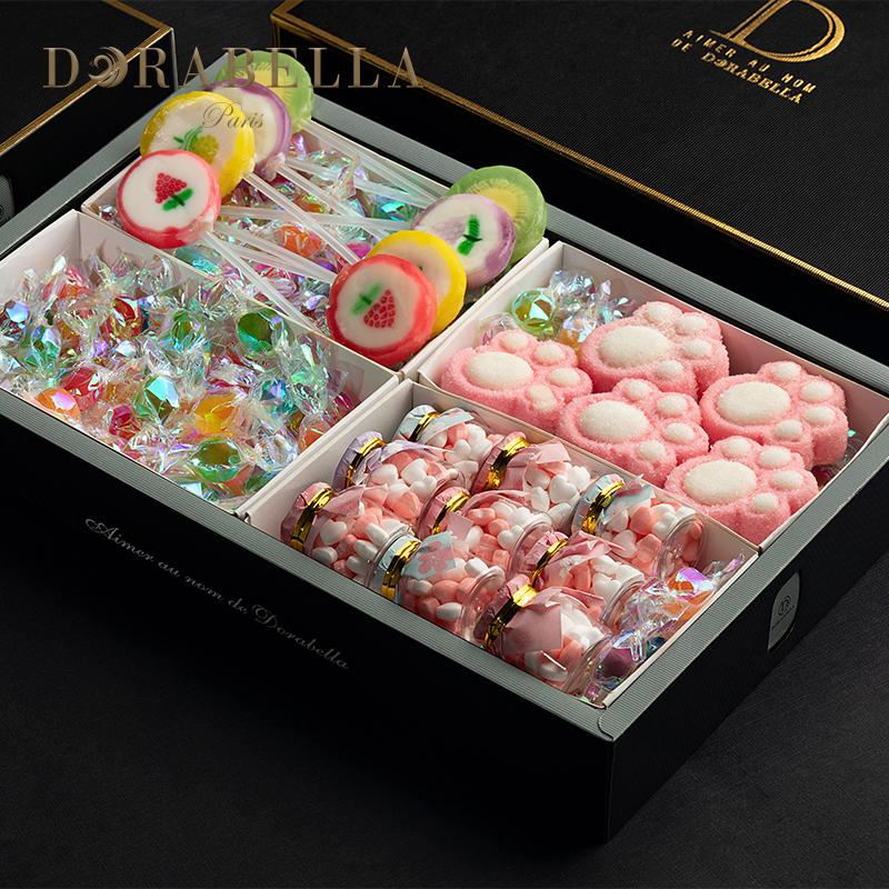 糖果礼盒装星空创意棒棒糖十二星座送女友生日礼物散装网红零食12