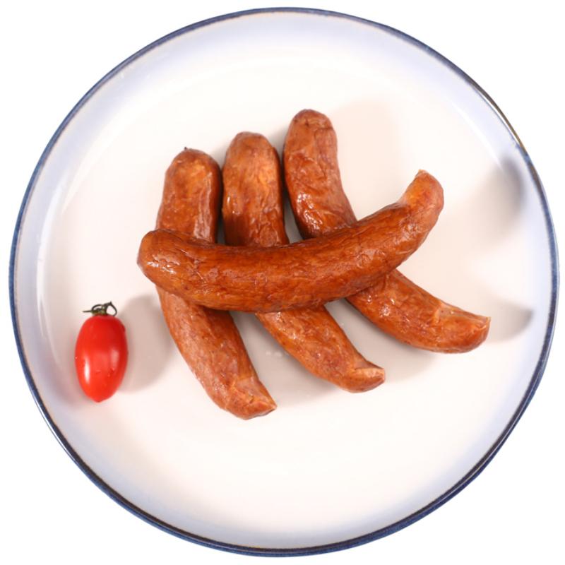 哈尔滨红肠即食香肠正宗东北特产小吃500g俄罗斯蒜味香肠红肠11-30新券