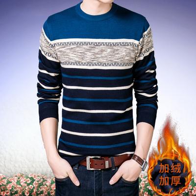 【加绒加厚】冬季男士毛衣针织衫