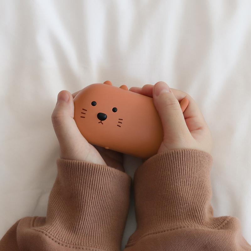 MUID暖手宝可爱自发热便携式usb充电两用创意暖宝宝学生迷你暖手
