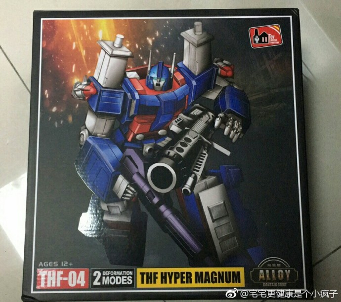 NEW.Deformation toy THF04 tongtian xiao MP22 level car robot model set box