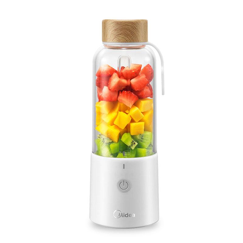 美的便携式榨汁机家用小型电动榨汁杯学生全自动果蔬多功能果汁机_天猫超市优惠券