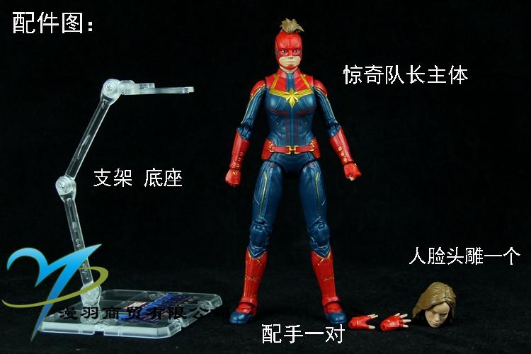 正版中動漫威滅霸雷神鋼鐵蜘蛛俠黑豹螞蟻人手辦模型可動人偶玩具*可魯可丫