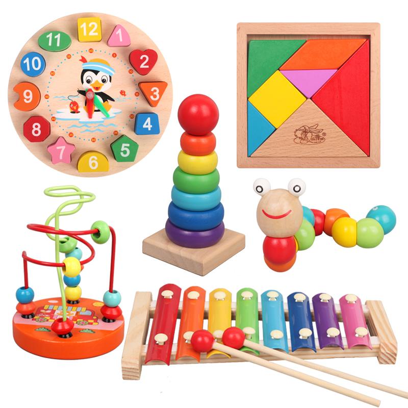 儿童手敲琴敲打乐器琴1-2-3周岁八音小木琴男女宝宝益智音乐玩具_淘宝优惠券