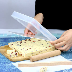手工牛轧糖模具不粘整形切割工具盘diy做雪花酥新手套装烘焙家用