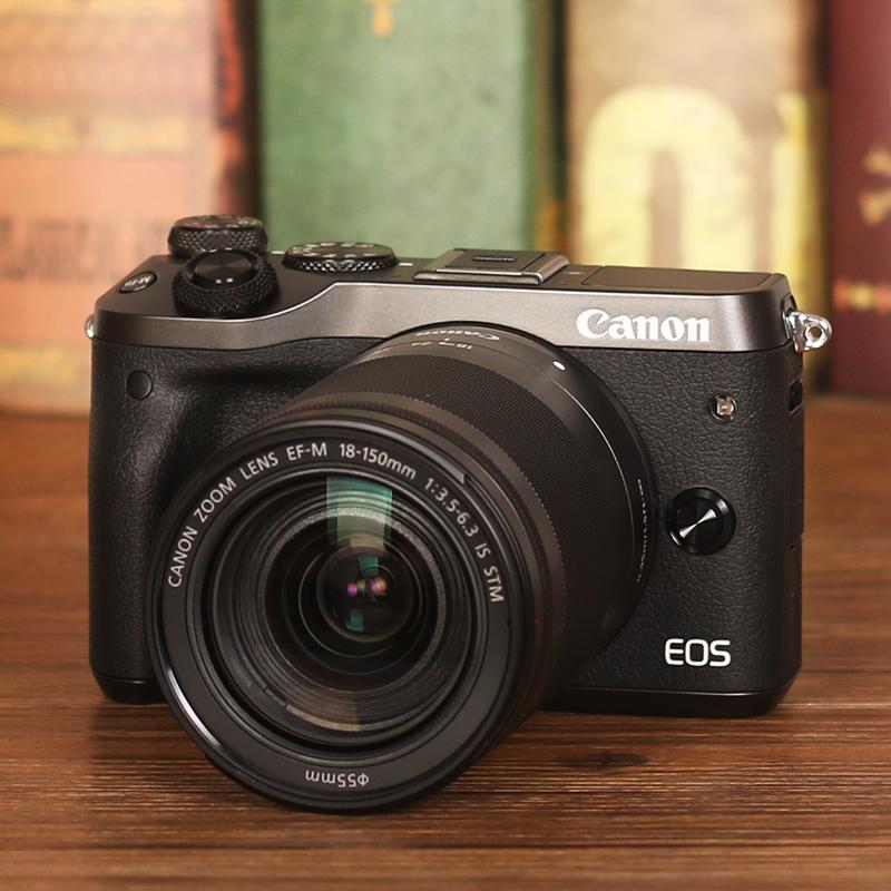 EOS Canon M6 micro máy ảnh duy nhất 18-150 mét kit retro micro SLR máy ảnh entry level HD du lịch kỹ thuật số nhiếp ảnh wifi nhà cô gái duy nhất điện bất