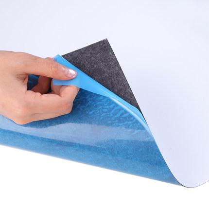 齐心软白板墙贴磁性白板贴可移除黑板贴纸墙贴白板挂式办公写字板黑板墙家用儿童教学