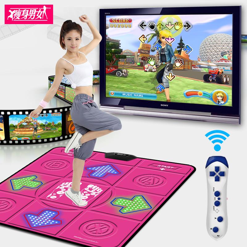 Giảm béo nam giới và phụ nữ sáng yoga dance chăn đơn TV giao diện máy tính nhà somatosensory trò chơi máy giảm béo