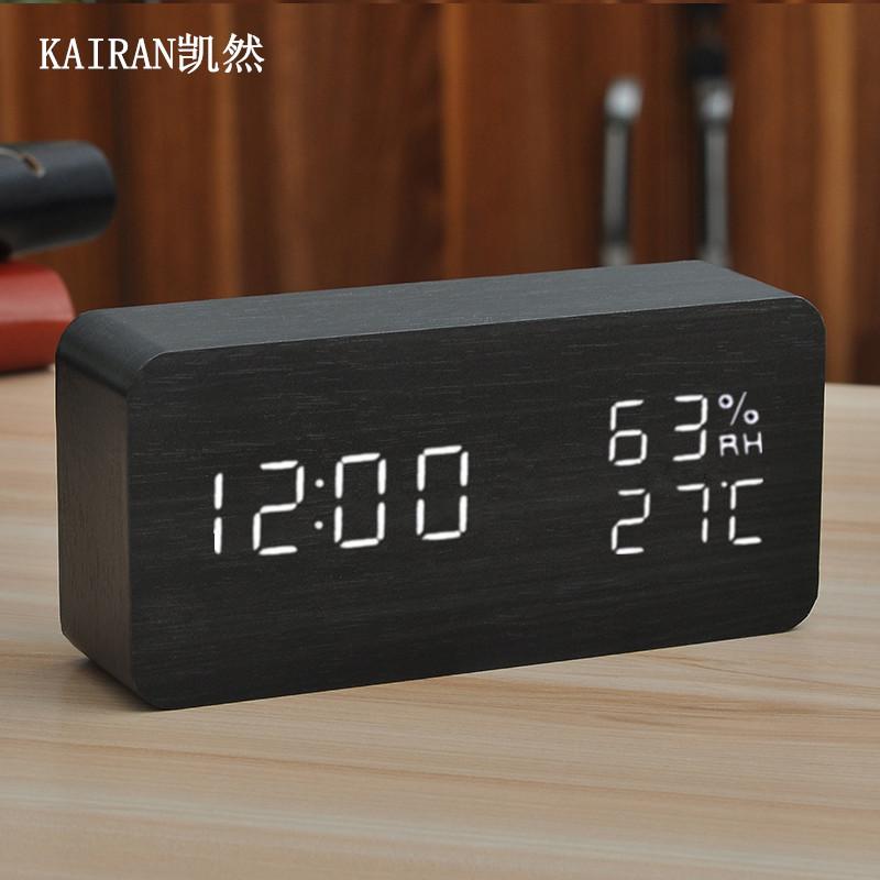 Будильник простой творческий студент электронные часы немой прикроватные тумбочки светодиодные многофункциональные часы умные часы сидения светящиеся