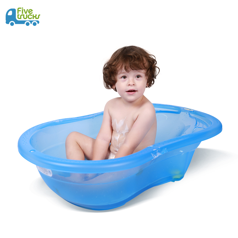 USD 81.61] Fivetrucks baby bath tub baby increased thickening of ...