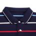 Ngày của cha Mùa Hè của Nam Giới Dad Gói Ngắn Tay Áo T-Shirt Ông Già 40-50 Năm Casual Cotton Top Polo Áo Sơ Mi polo nam Polo