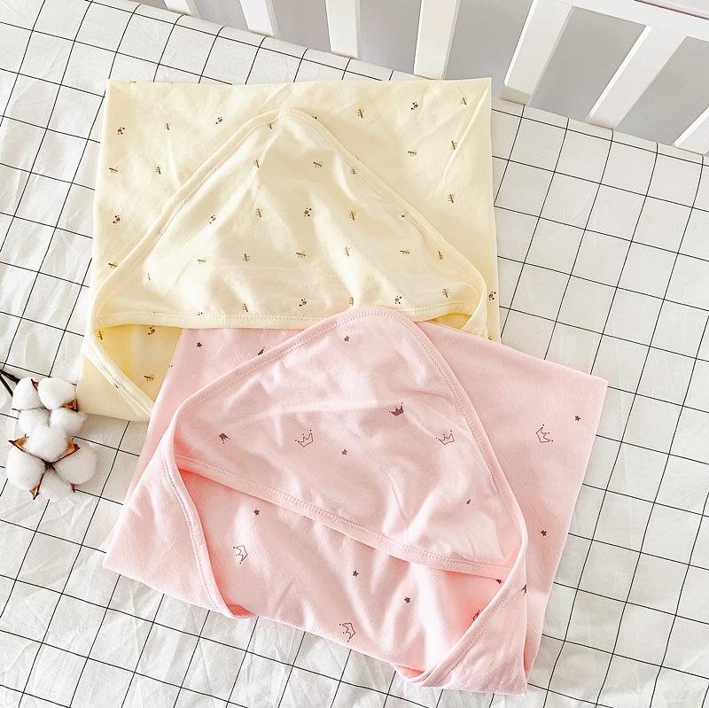 夏秋季襁褓包巾纯棉婴儿产房抱被新生儿包被抱毯四季宝宝用品被子