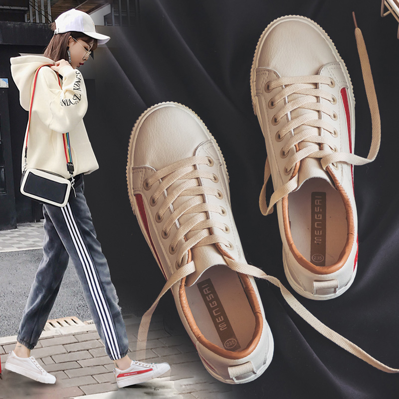 Ins small white shoes female 2018 spring new Korean wild students Harajuku ulzzang canvas shoes 1992 board shoes