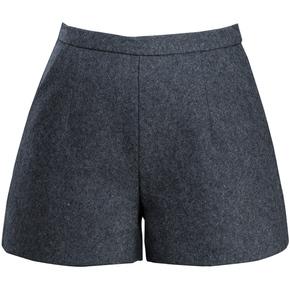 新款宽松显瘦厚呢子外穿打底靴裤