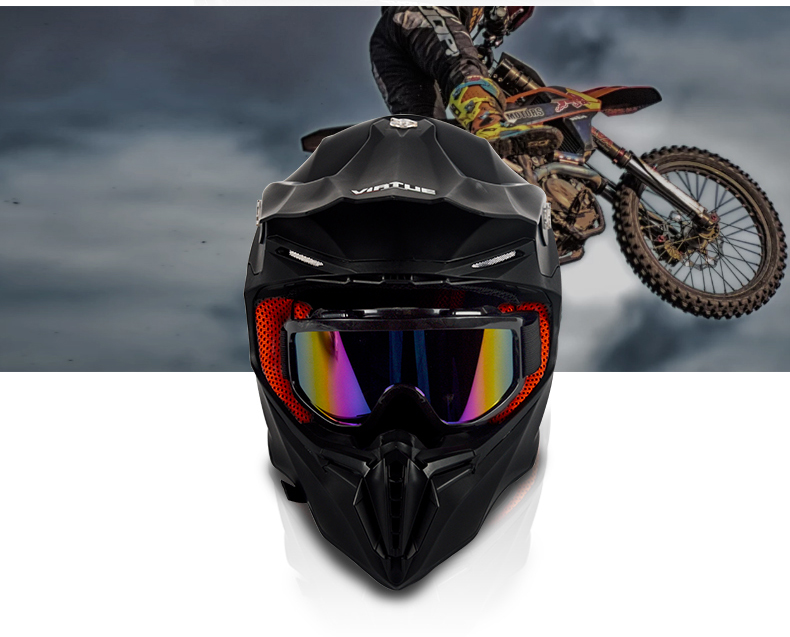 Adult Motocross Off-road Casque ATV Helmet 8