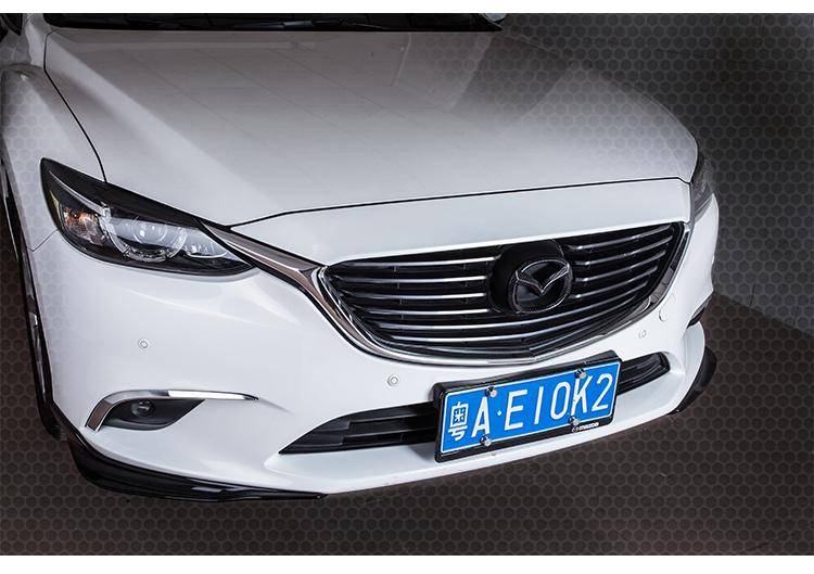 Logo Carbon trang trí trước sau xe Mazda 6 - ảnh 15