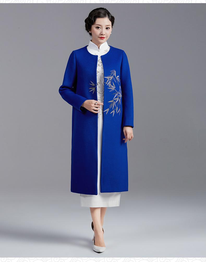 香绣羽旗袍(二) - 花雕美图苑 - 花雕美图苑