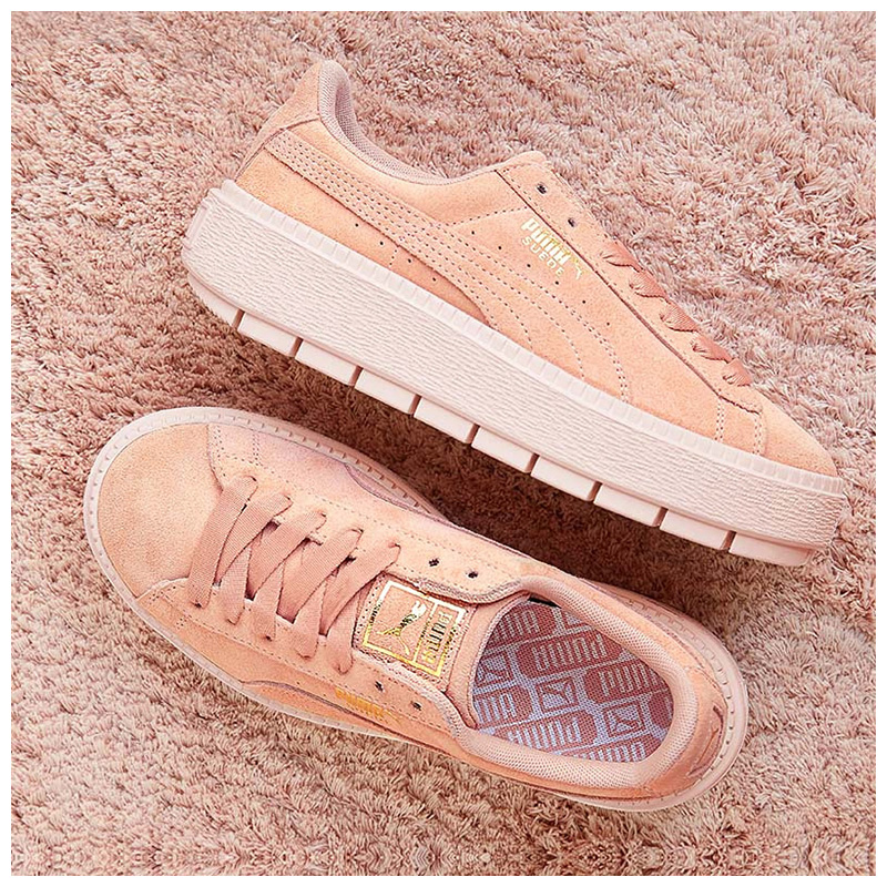 d10939e17ef PUMA Puma shoes 2018 New Rihanna thick bottom SUEDE platform shoes sports  shoes casual shoes 365830