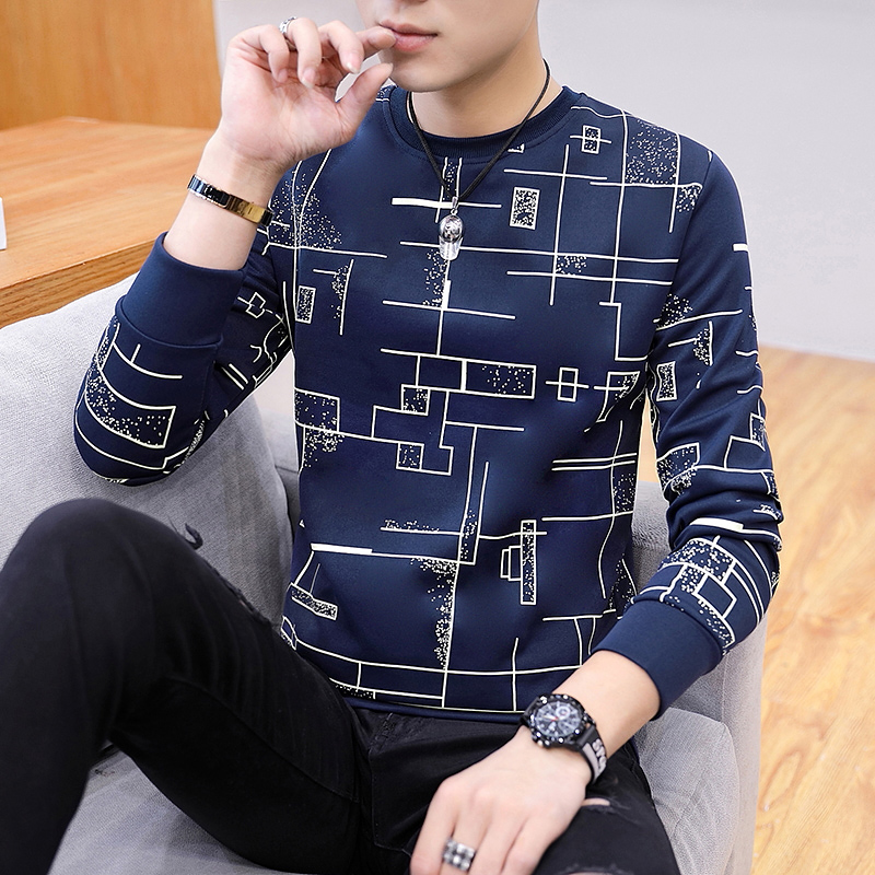 Labyrinth Long Sleeve: Navy