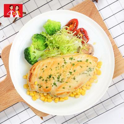 大成姐妹厨房香煎鸡扒20片鸡胸肉冷冻半成品健身代餐鸡肉鸡排轻食