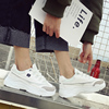 Sports shoes female Korean version of Harajuku ulzzang wild autumn 2018 new shoes white casual old women's shoes