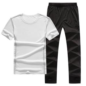 运动套装速干短袖t恤长裤