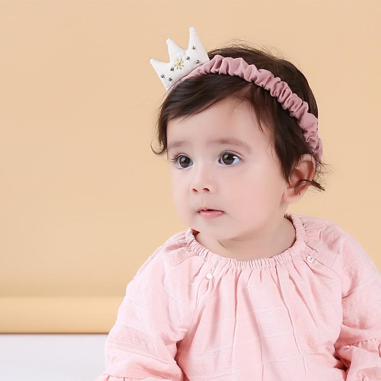 Цвет: M Белый хлопок ленты Корона розовая