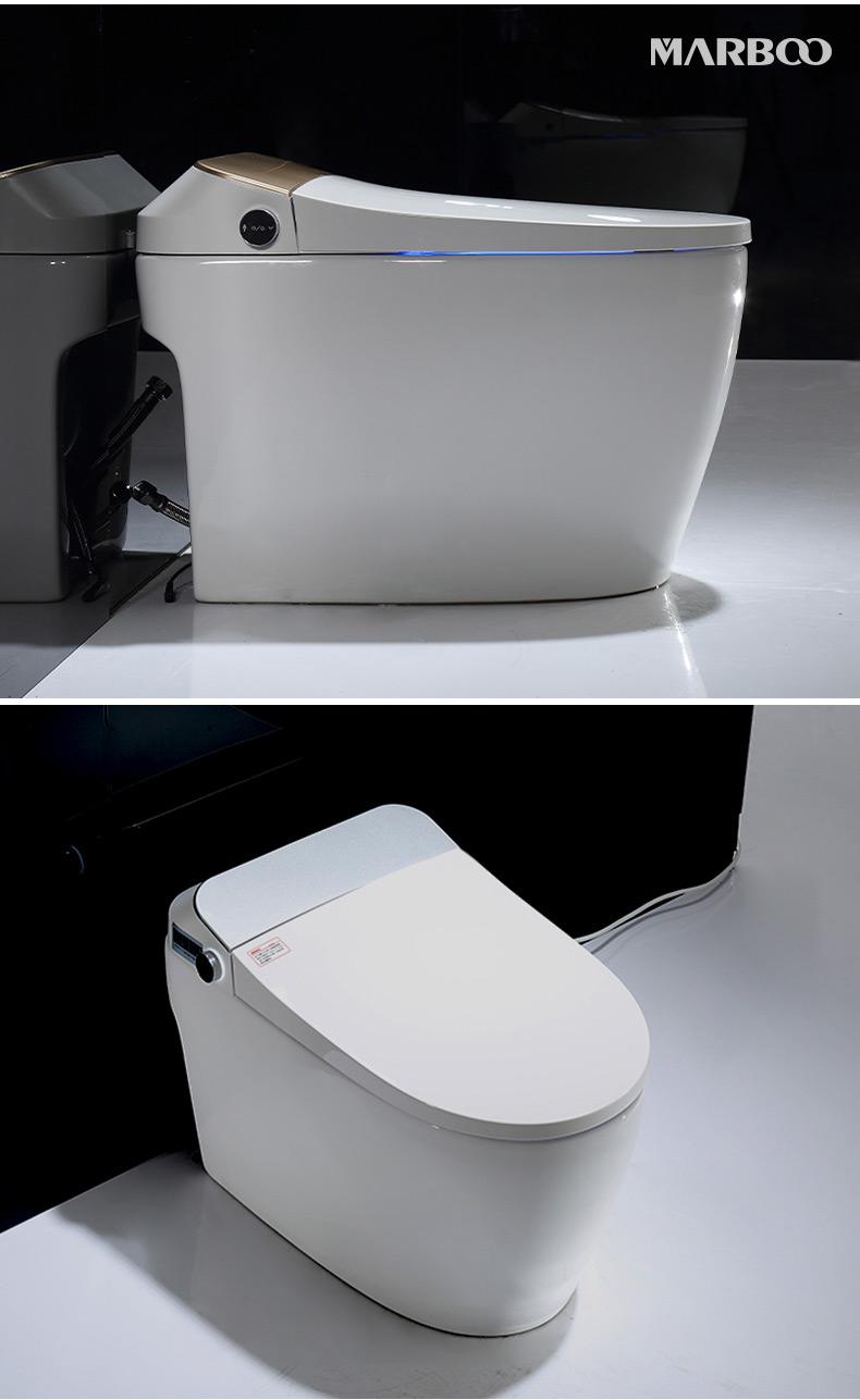 德国迈锐博智能马桶一体式坐便器全自动瞬热式电动座便器详细照片