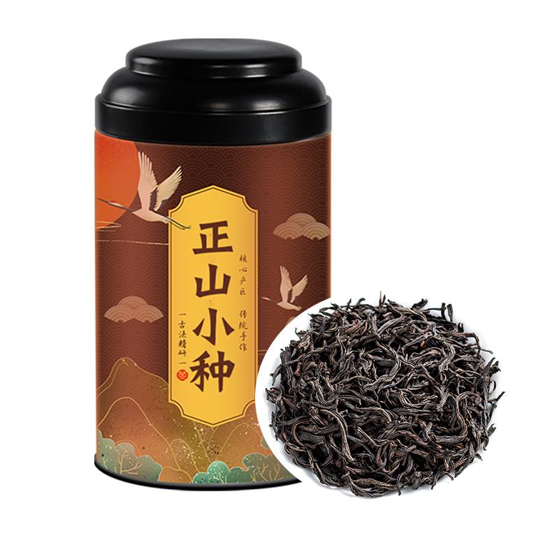 正山小种红茶茶叶浓香型花果香特级武夷山桐木关散装新茶春季罐装