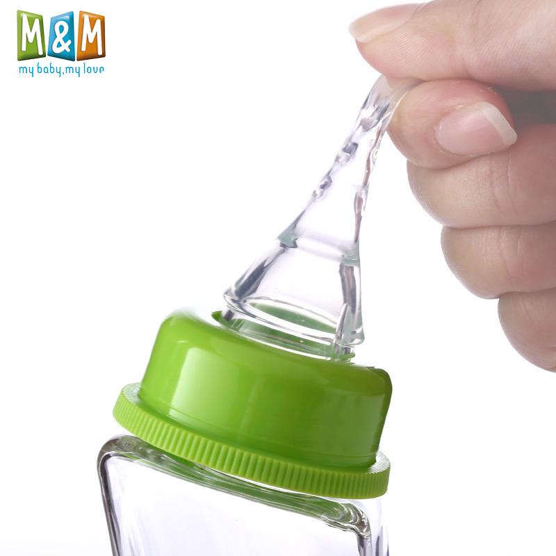 M&M母乳实感婴儿标准口径奶嘴新生儿奶嘴宝宝超软MM奶嘴(用10元券)