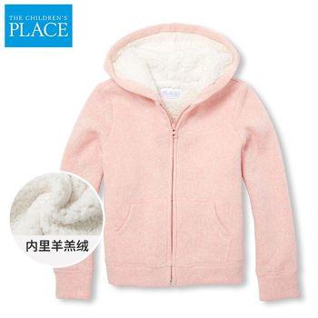 北美绮童堡女童羊羔绒洋气外套