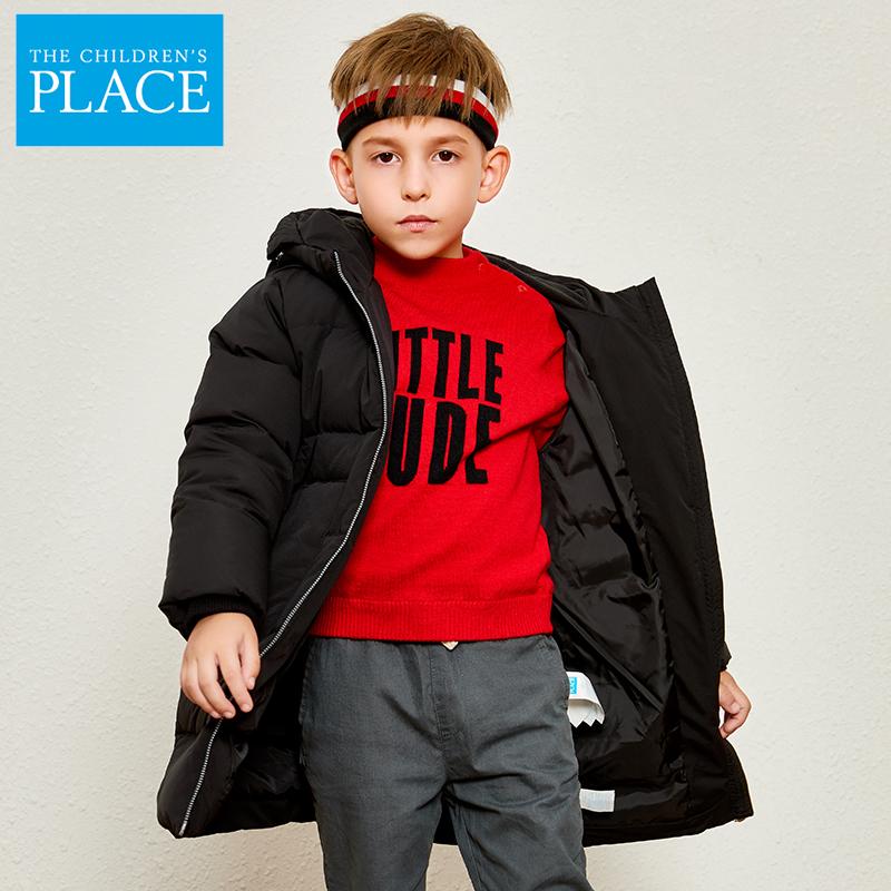 北美童装TOP品牌 The Children's Place 中小童加厚长款羽绒服 99元包邮