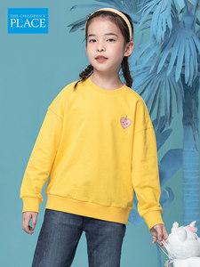 北美童装TOP品牌 绮童堡 女童圆领运动卫衣 90~160cm 主图