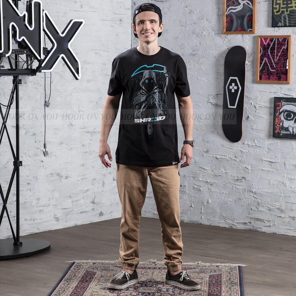 Tấm vải liệm mới e-thể thao gà đồng phục bông ngắn tay C9 Cloud9 Jedi sinh viên tồn tại T-Shirt nam