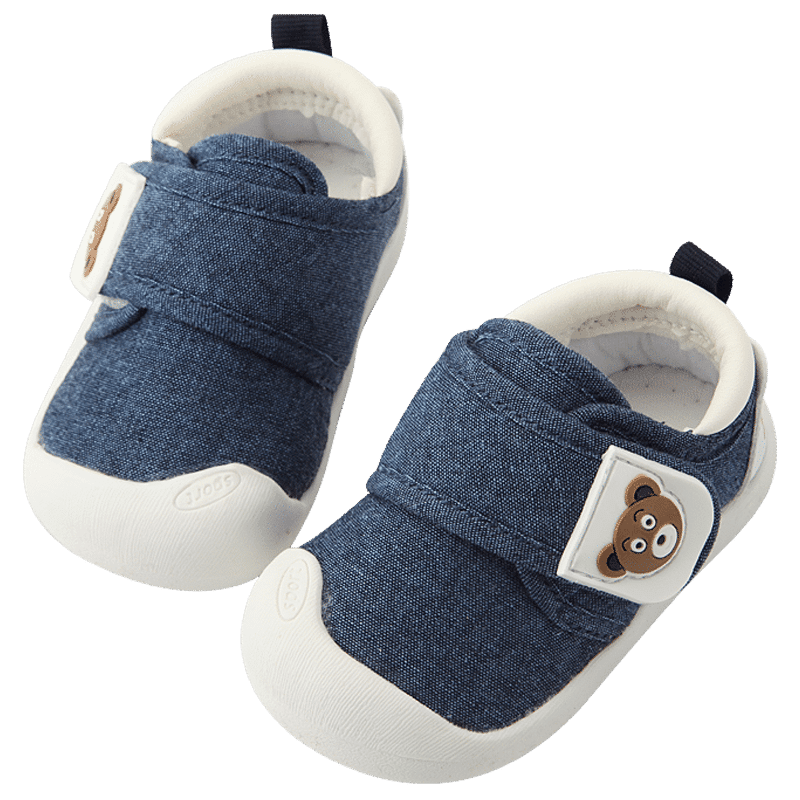 Baby toddler shoes male spring and autumn 0 1-2 years old soft bottom baby winter cotton shoes toddler women can not drop shoes baby shoes