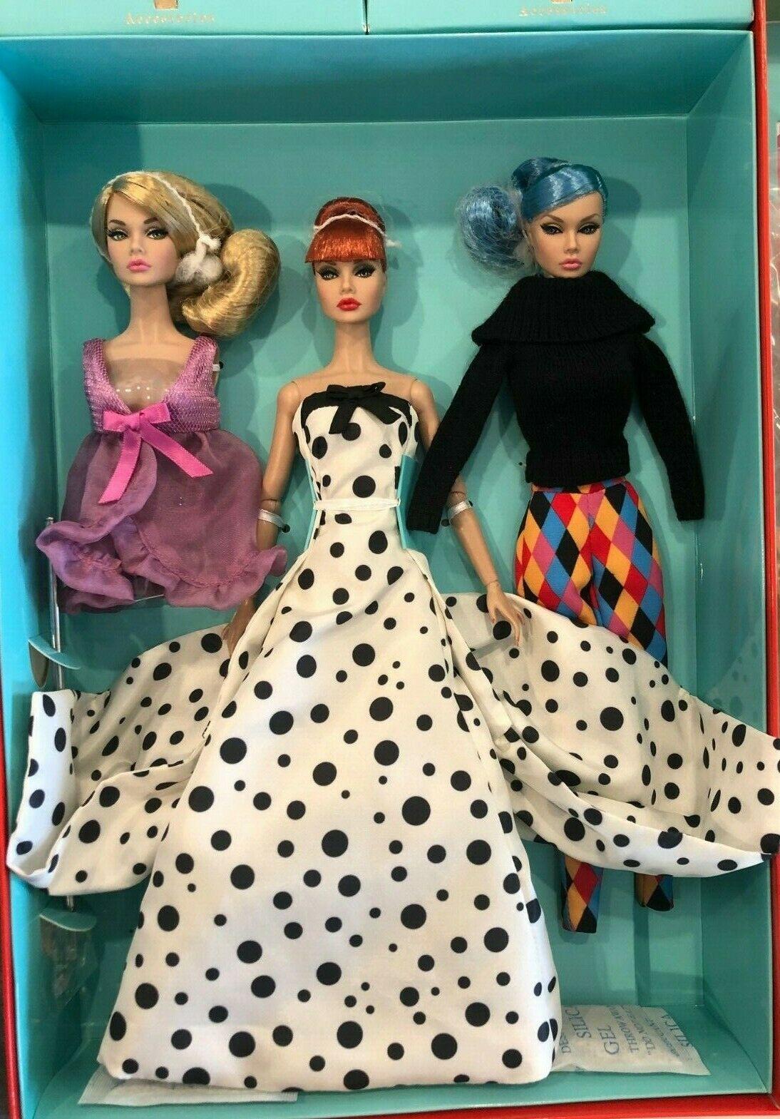 Fashion Royalty Poppy Parker Looks A Plenty 3頭PP 禮盒娃娃