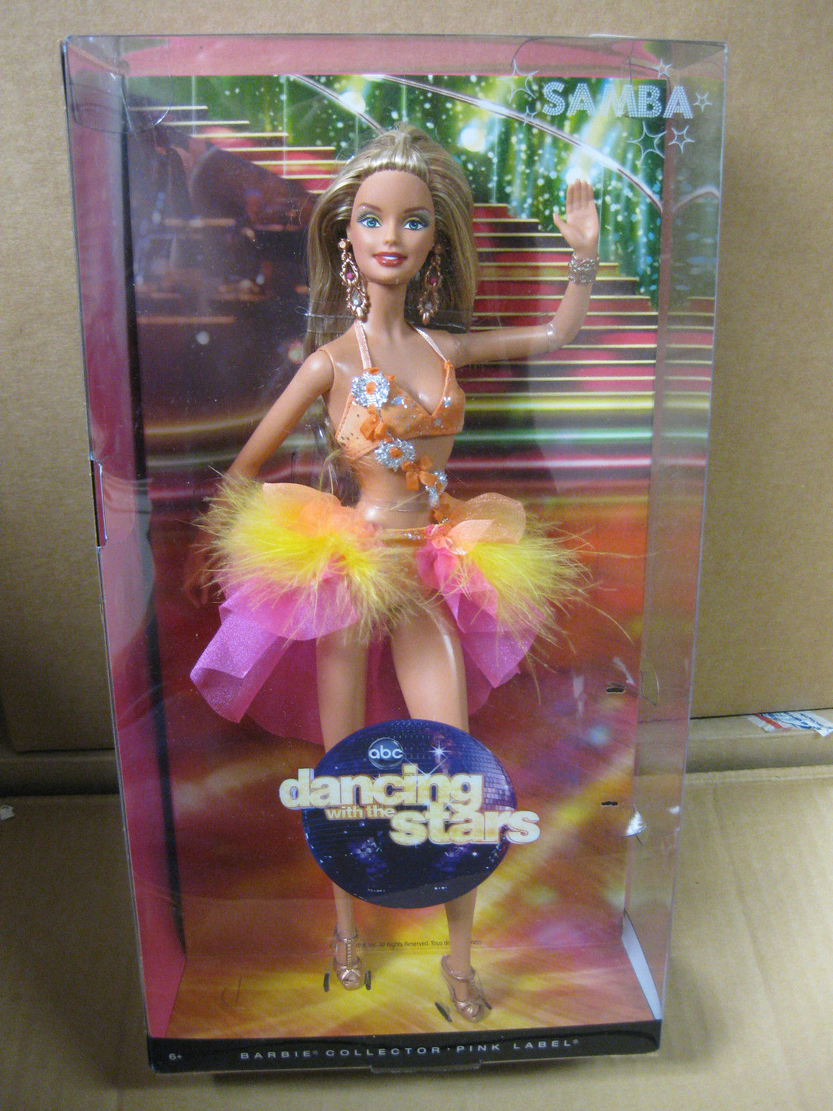 代購 芭比 Barbie Dancing With The Stars Dance Samba桑巴 2011