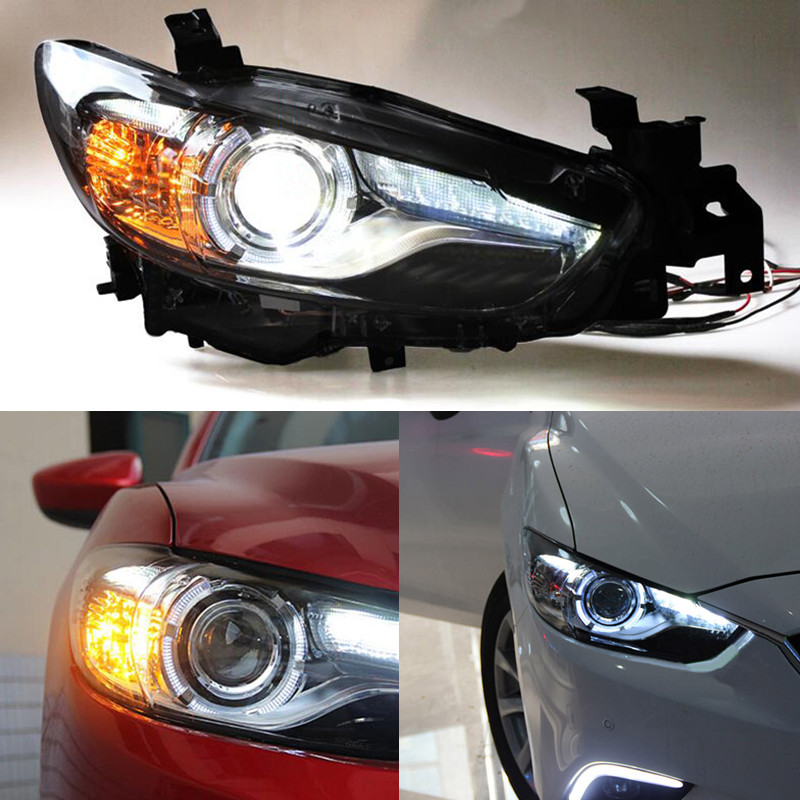 xenon headlight assembly refit for mazda atenza 2013 2016. Black Bedroom Furniture Sets. Home Design Ideas